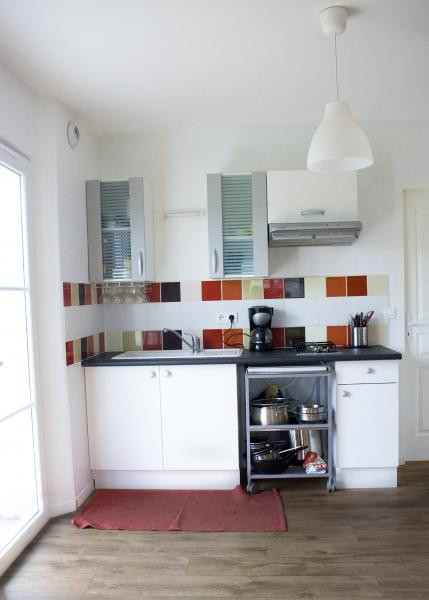Coin cuisine Location Appartement 60603 Cambo les Bains