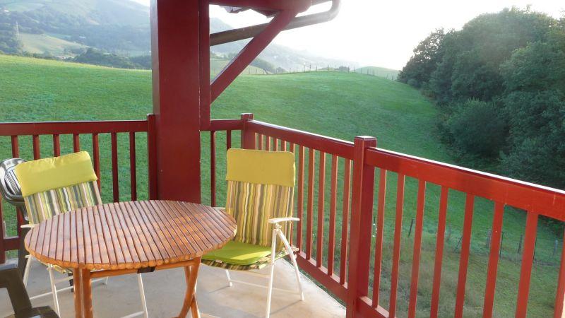 Vue de la terrasse Location Appartement 60603 Cambo les Bains