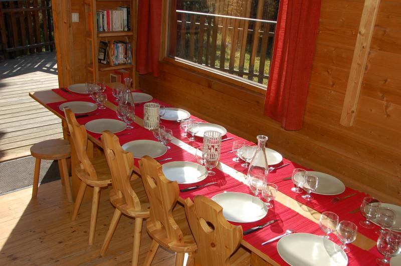 Salle à manger Location Chalet 60919 Les 2 Alpes