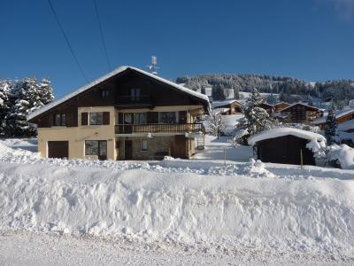 Vue extérieure de la location Location Appartement 61393 Crest Voland Cohennoz