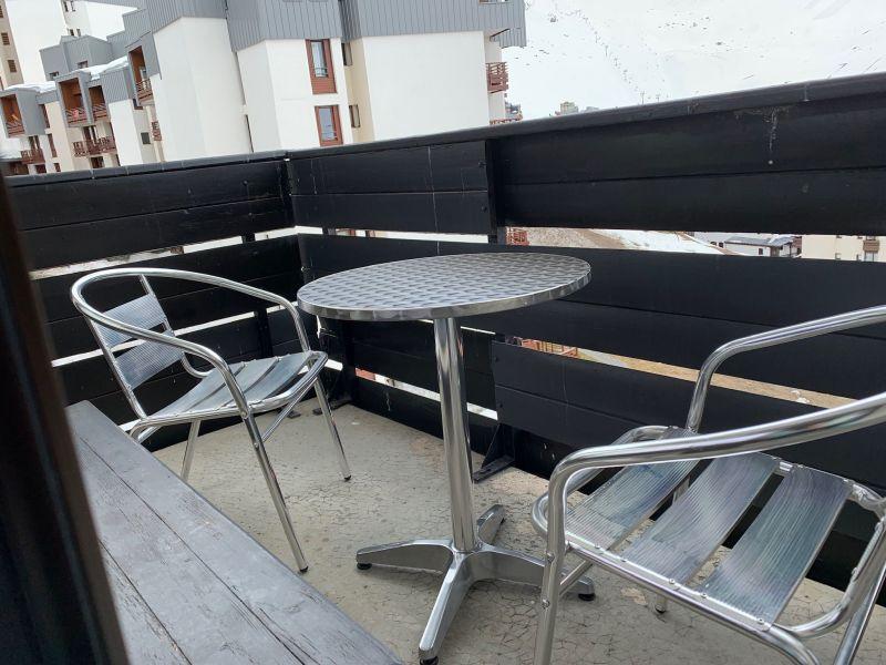Vue du balcon Location Studio 61425 Tignes