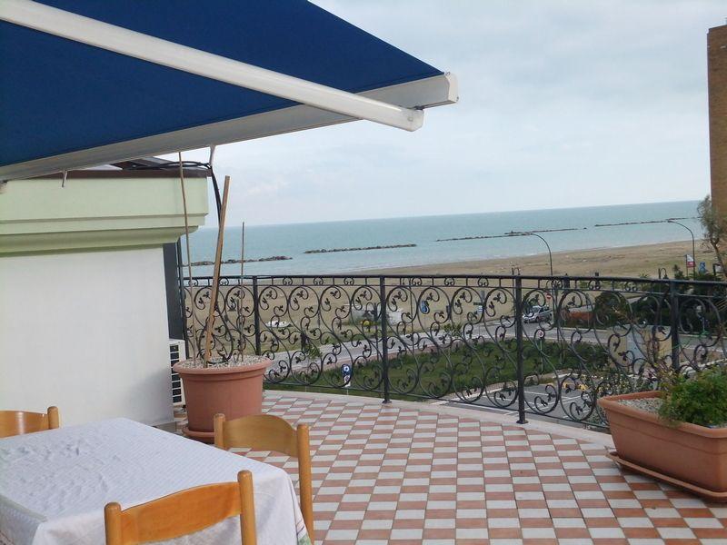 Vue de la terrasse Location Maison 61446 Roseto degli Abruzzi