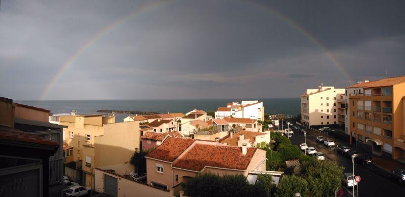 Vue depuis la location Location Studio 6162 Cap d'Agde