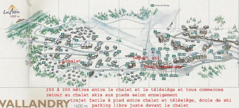 Plan de la location Location Chalet 61935 Peisey-Vallandry