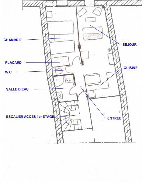 Plan de la location Location Appartement 62006 Bandol