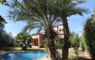 Vue extérieure de la location Location Villa 62618 Marrakech