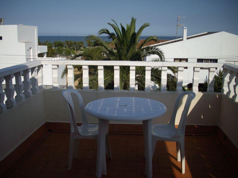 Vue du balcon Location Villa 63018 L'Ampolla