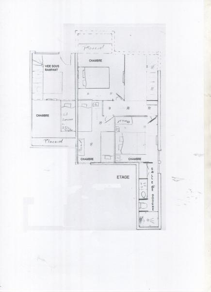 Plan de la location Location Appartement 63126 Valmorel