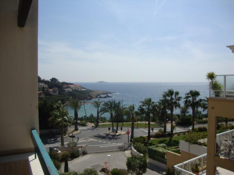 Vue de la terrasse Location Appartement 63327 Sanary