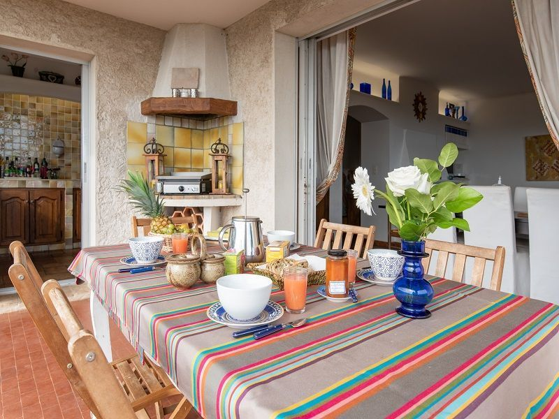 Terrasse 1 Location Villa 63384 Les Issambres