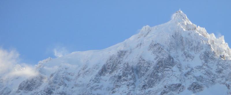 Vue depuis la location Location Appartement 647 Chamonix Mont-Blanc