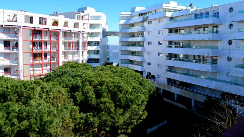 Vue de la terrasse Location Appartement 6626 Arcachon