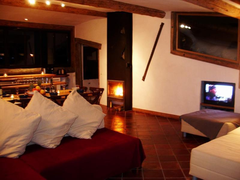 Salon Location Chalet 686 Chamonix Mont-Blanc