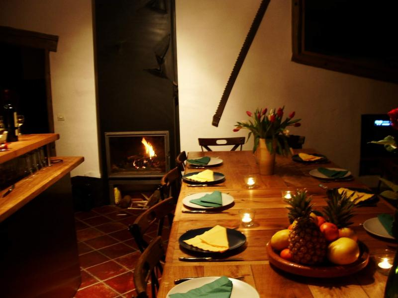 Salle à manger Location Chalet 686 Chamonix Mont-Blanc