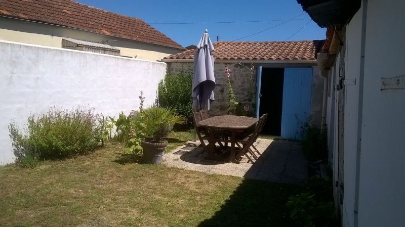 Jardin Location Maison 6883 Le Château d'Oléron