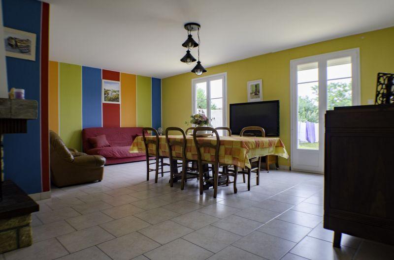 Salle à manger Location Maison 6903 Le Château d'Oléron