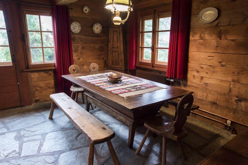 Salle à manger Location Chalet 706 Chamonix Mont-Blanc