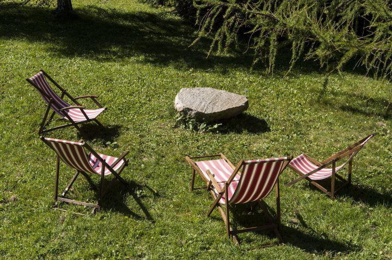 Jardin Location Chalet 706 Chamonix Mont-Blanc