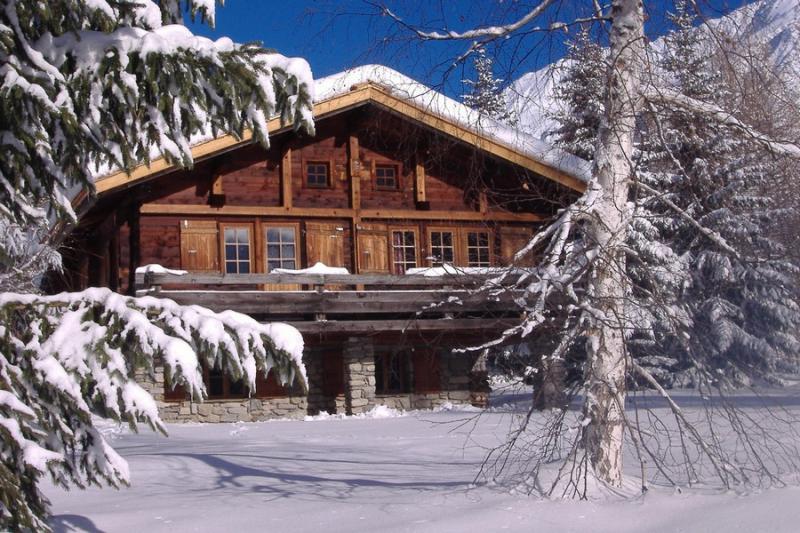 Vue extérieure de la location Location Chalet 706 Chamonix Mont-Blanc