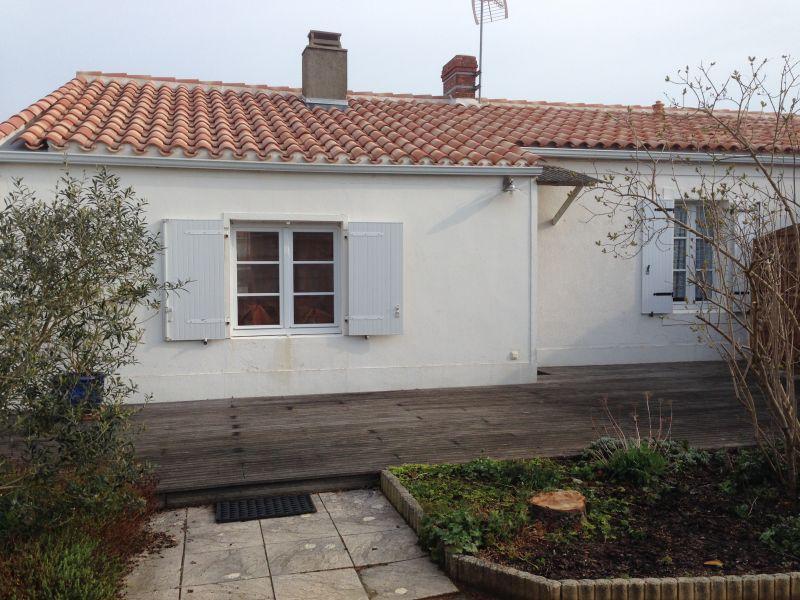 Vue de la terrasse Location Villa 7202 Noirmoutier en l'Île
