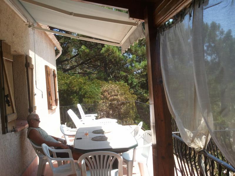 Terrasse 1 Location Villa 7874 Porto Pollo