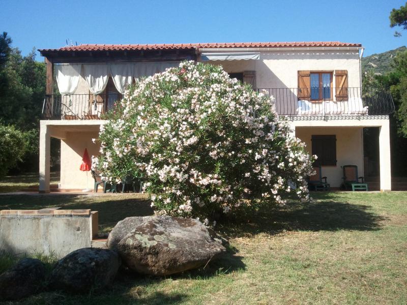 Vue extérieure de la location Location Villa 7874 Porto Pollo