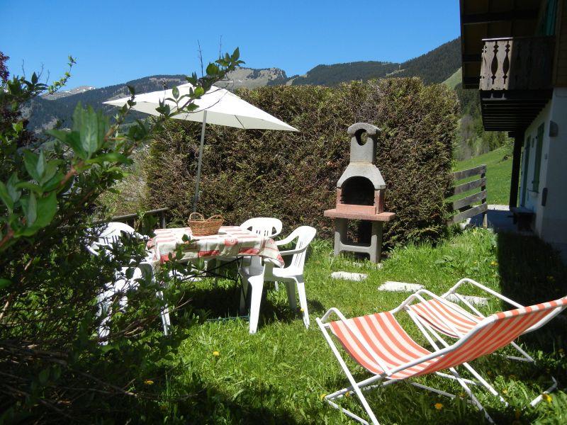 Jardin Location Chalet 799 Châtel