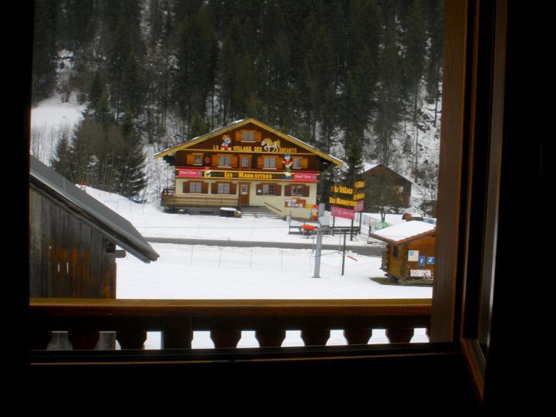 Vue du balcon Location Chalet 800 Châtel