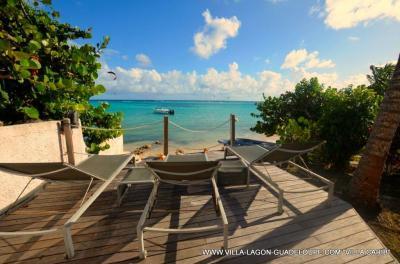 Vue depuis la location Location Villa 8020 Saint Francois