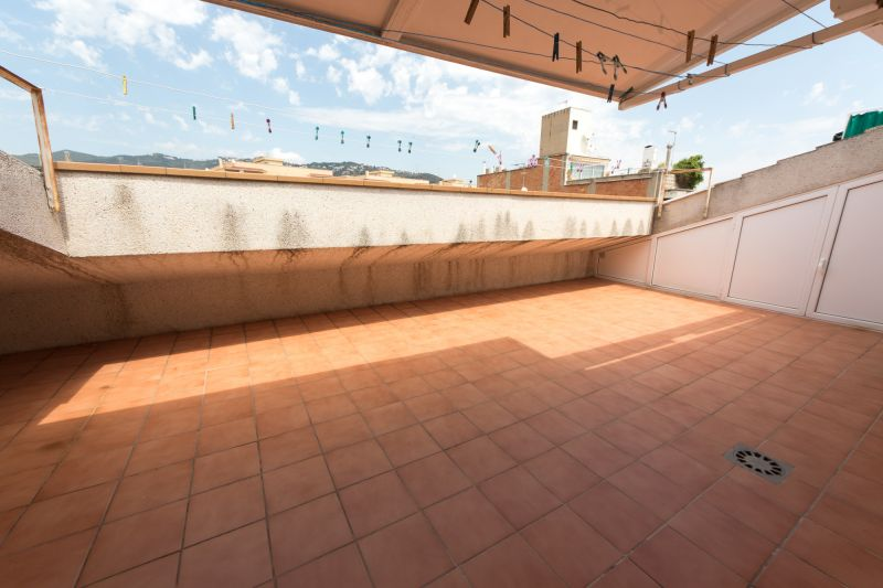 Vue de la terrasse Location Appartement 8169 Calella de Mar