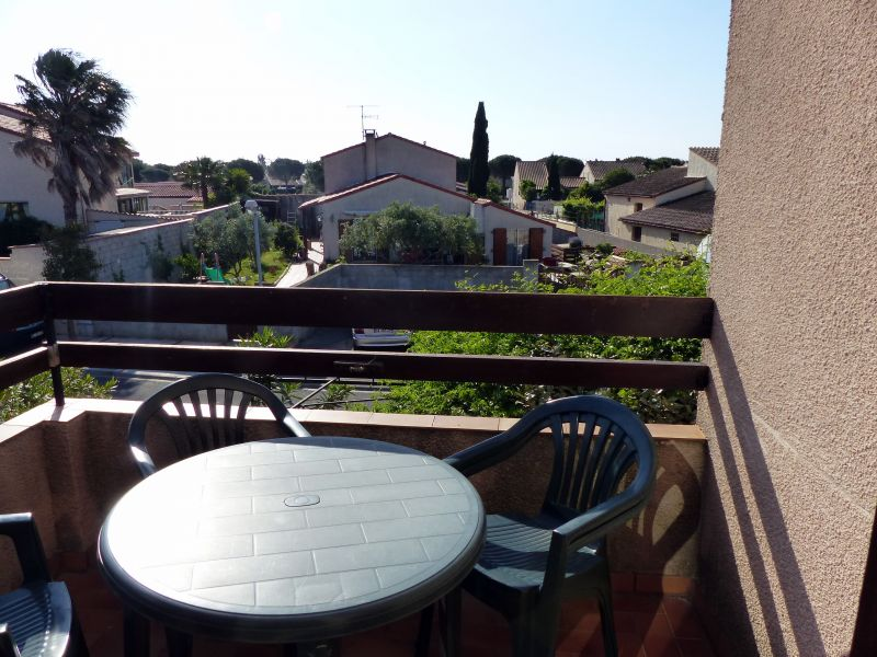 Terrasse Location Studio 8710 Saint Cyprien Plage