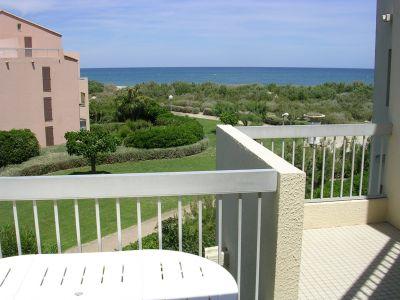 Balcon Location Appartement 8725 Saint Cyprien Plage