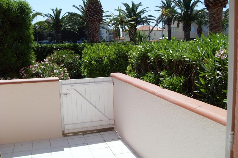 Terrasse Location Studio 8732 Saint Cyprien Plage