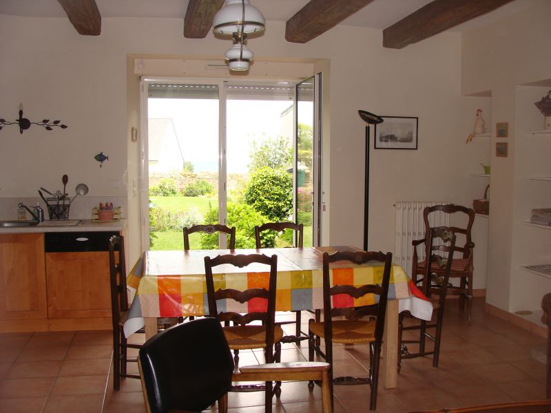 Salle à manger Location Maison 8770 Quiberon
