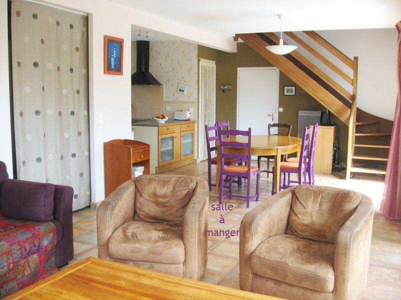 Salle à manger Location Maison 8772 Quiberon