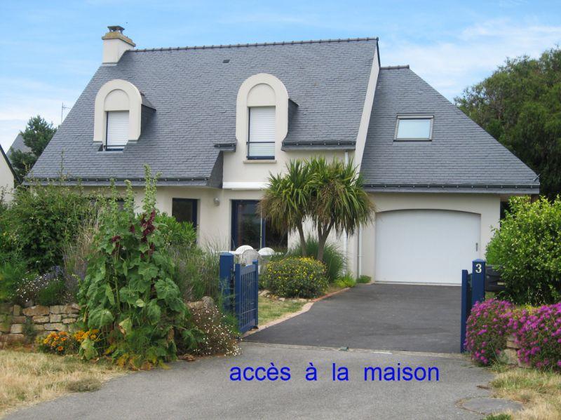 Vue extérieure de la location Location Maison 8772 Quiberon
