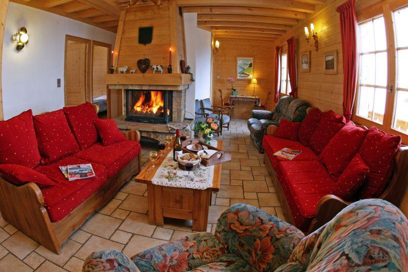 Salon Location Chalet 896 Combloux