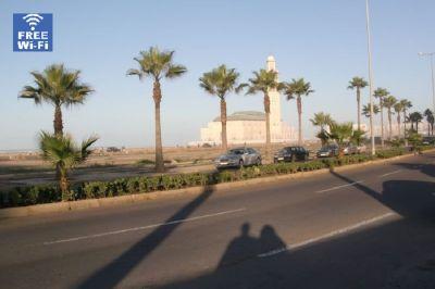 Vue extérieure de la location Location Appartement 9024 Casablanca
