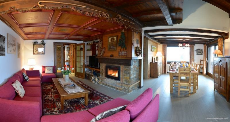 Salon Location Chalet 912 Combloux