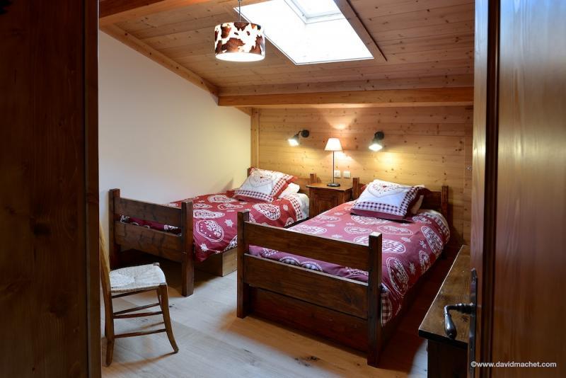 chambre 2 Location Chalet 912 Combloux