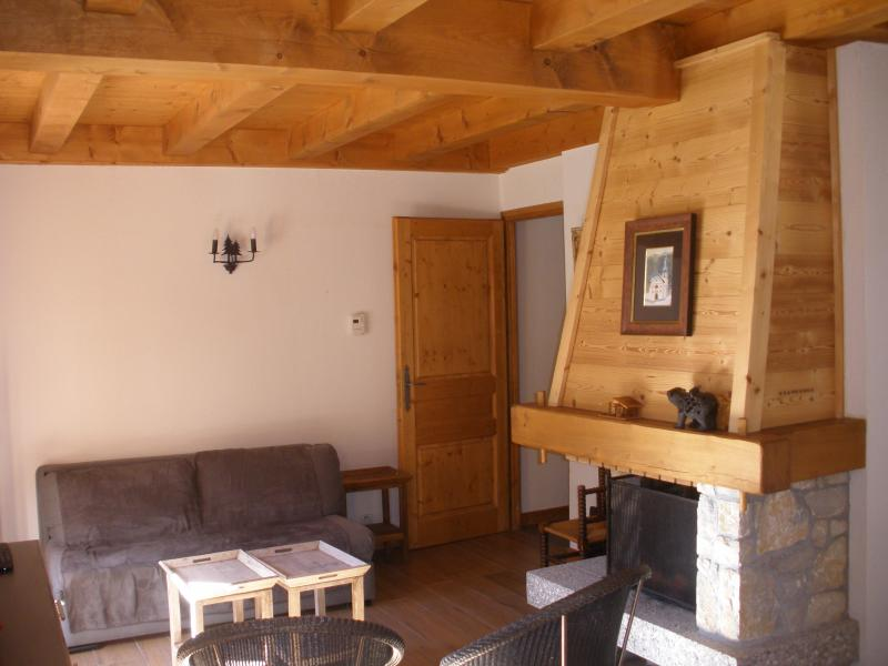 Salon Location Chalet 930 Les Contamines Montjoie