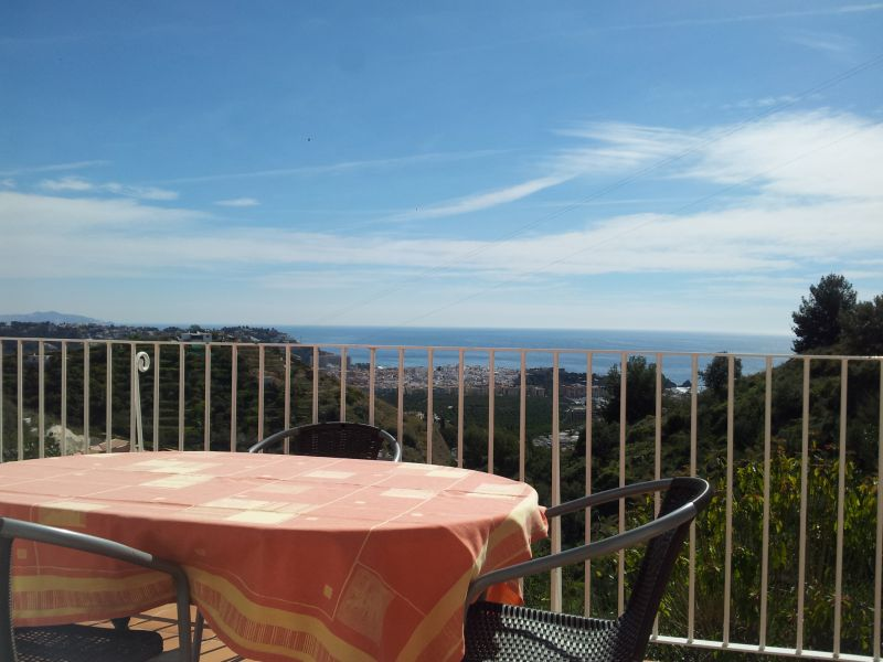 Vue de la terrasse Location Appartement 9618 Almuñecar