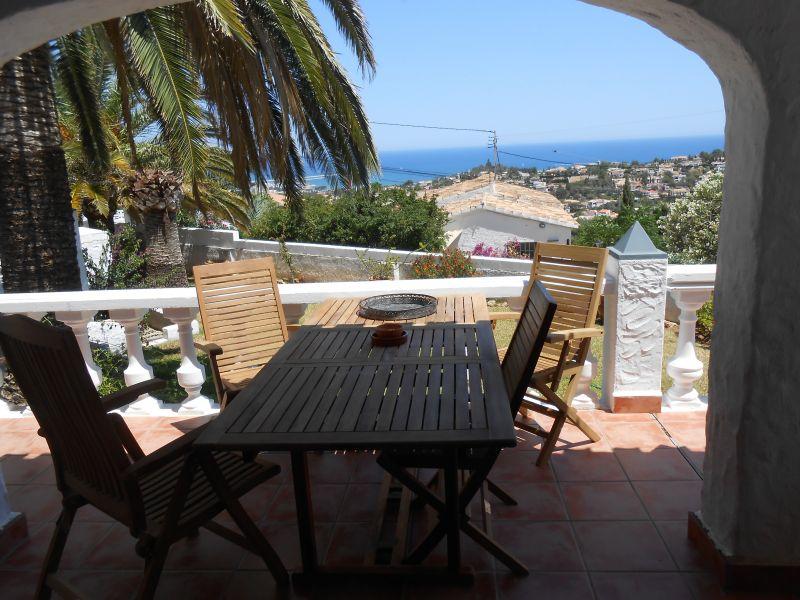 Vue de la terrasse Location Villa 9700 Dénia
