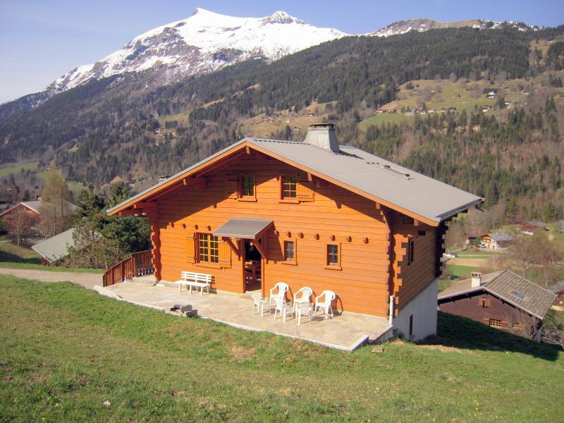 Vue extérieure de la location Location Chalet 980 Les Contamines Montjoie
