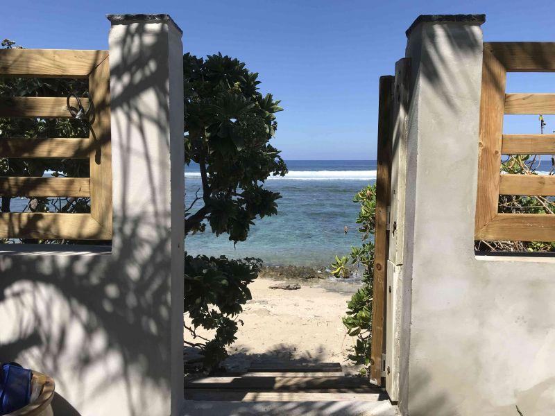 Vue extérieure de la location Location Maison 9879 Saint Gilles