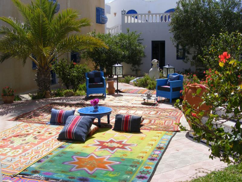 Vue de la terrasse Location Villa 9883 Djerba