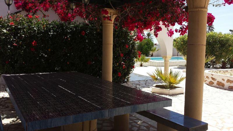 Vue de la terrasse Location Villa 9885 Djerba
