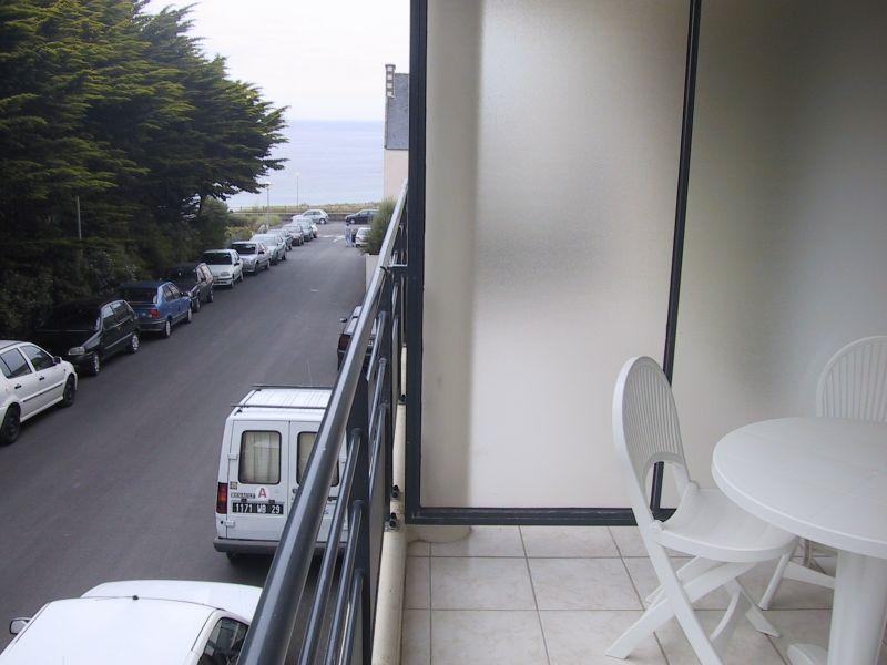Vue du balcon Location Appartement 9977 Audierne