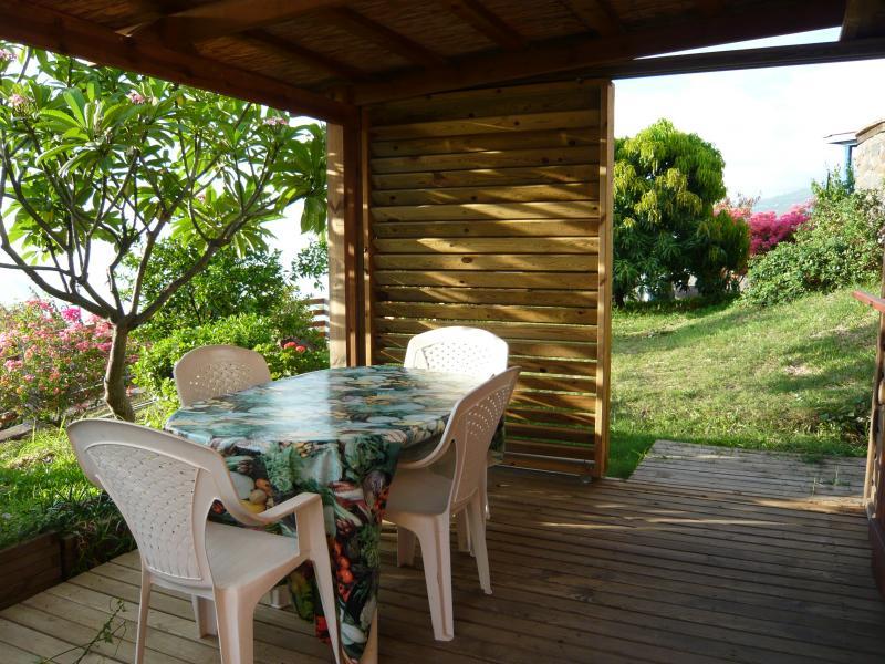 Terrasse Location Studio 9985 Saint Leu