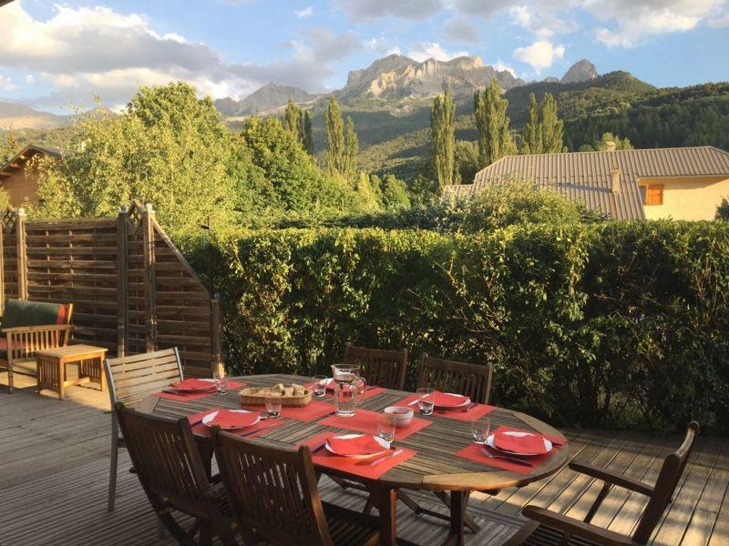 Terrasse Location Villa 101058 Barcelonnette